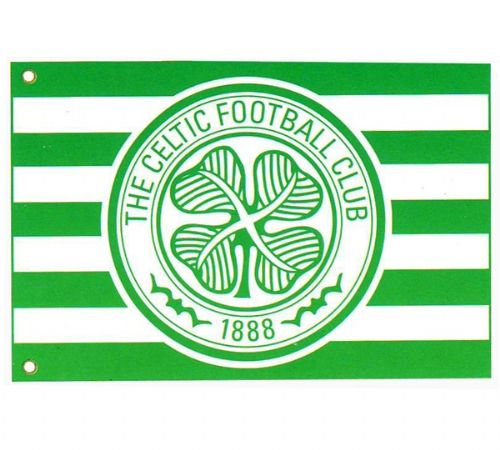 CELTIC FC FOOTBALL CLUB FLAG LARGE SIZE OFFICIAL 5 X 3